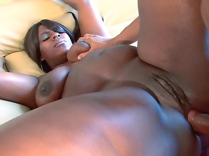 Fabulous pornstar in incredible black and ebony, big tits adult video