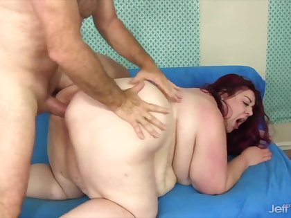 Jeffs Models - Mega Fat SSBBWs Drilled in Doggystyle Compilation Part 1