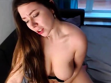 Beautiful Black-hearted Teen Big Natural Tits Bouncing